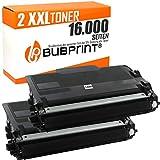 2 Bubprint Toner kompatibel für Brother TN-3480 für DCP-L5500DN HL-L5000D HL-L5100 HL-L5100DN HL-L5100DNT HL-L5100DNTT HL-L5200DW HL-L6400DW MFC-L5700DN MFC-L5750DW MFC-L6800DW Schwarz