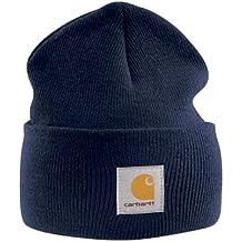 Carhartt , Casquette Acrylique , Bleu Marine CHA18NVY chapeau bonnet beanie