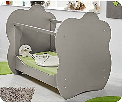 Mobikids - Cuna ALTEA Lino 60x120cm Convertible en sofá