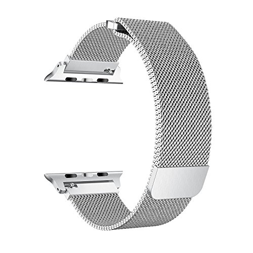 EH HE Apple Watch Armband 38mm Milanaise Strap Armband Replacement Wrist Band Alle Modelle Keine Schnalle Benötigt …