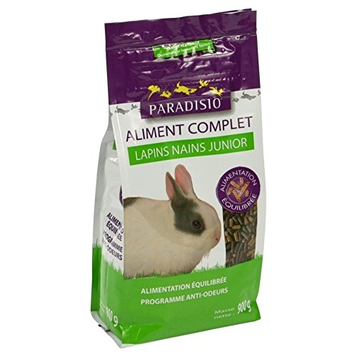 Paradisio - Aliment Complet pour Lapins Nains Junior -...