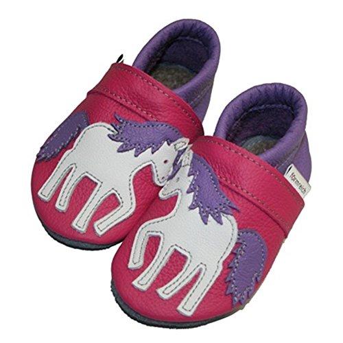 Unicórnio Rastejando Form violeta Rico Rosa Infantil Calçado Sapatos Cavalo xYHwYqF1