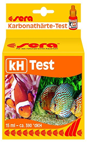sera 04210 kH-Test 15 ml - Zur einfachen Bestimmung der Karbonathärte im Süß- und Meerwasser im Aquarium oder Teich