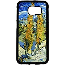 Drawing Painting van Gogh Phone caso Cover for Funda Samsung Galaxy S6 Vincent Van Gogh Hot Shelling