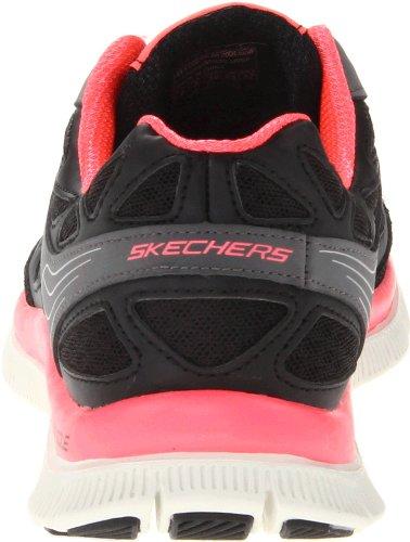 Skechers Flex Appeal Align - Zapato, Talla Black (bkhp)