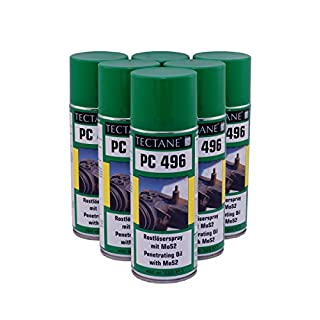 € 5,83/L Tectane PC496 Rostlöser Spray mit MOS2 6x 400ml