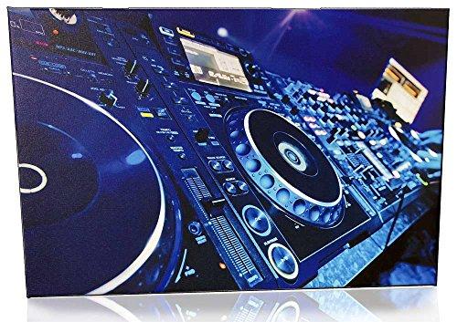 DJ Bild auf Leinwand - Vol.3 / DJ Set, DJ Workstation, DJ Anlage, DJ Equipment, DJ Zubehör (Dj-licht-controller-software)