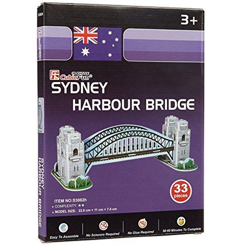 Cubicfun Sydney Harbour Bridge, Multi Color