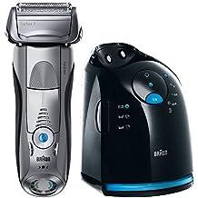 Braun Series 7 799cc-7 Wet&Dry - Afeitadora eléctrica de láminas para hombre (material aluminio), color plateado