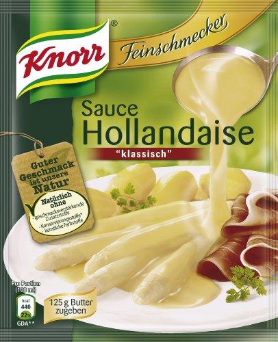 Knorr Feinschmecker Sauce Hollandaise klassisch, 6er Pack (6 x 250 ml)