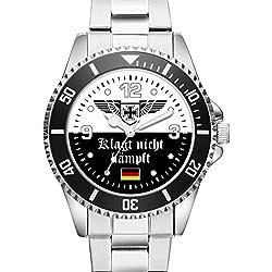 KIESENBERG ® Geschenk Fanartikel Uhr - Klagt nicht kämpft - 2504