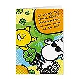 Freude, Glück und Sonnenschein - Pop Art Karte - Nr. 11