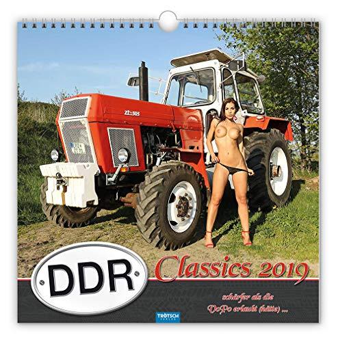 Erotikkalender DDR-Classics 2019: Schärfer als die VoPo erlaubt (hätte)... par Trötsch Verlag