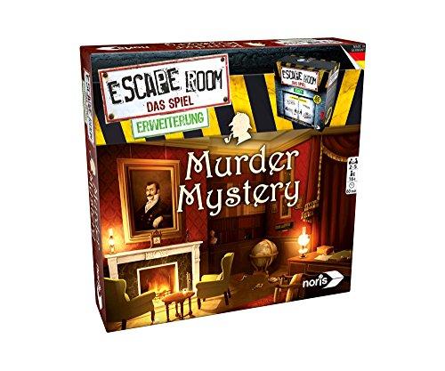 Noris 606101617 Escape Room Erweiterung Murder Mystery, nur mit dem Chrono Decoder spielbar