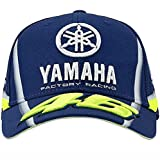 VALENTINO ROSSI  Casquette VR46 Moto GP M1 Yamaha Factory Racing Team Ydmca313609 Officiel 2018 - Licence Yamaha - Distributeur - -