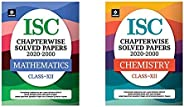 Isc Chapterwise Solved Papers Mathematics Class 12 For 2021 Exam&Isc Chapterwise Solved Papers Chemistry C