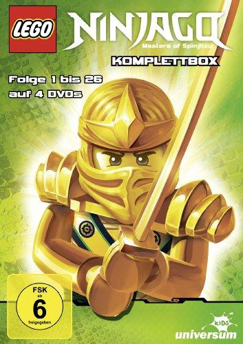 Lego Ninjago Komplettbox - Folge 1-26 [4 DVDs] - Alle Lego Film Lego