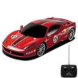 HSP Himoto Original Ferrari F458 Challenge - RC ferngesteuertes Lizenz-Auto im Modell-Maßstab 1:18, Ready-to-Drive, Fahrzeug inkl. Fernsteuerung
