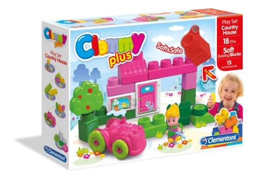 Preisvergleich Produktbild Clementoni Klocki Clemmy BlocksCasetta