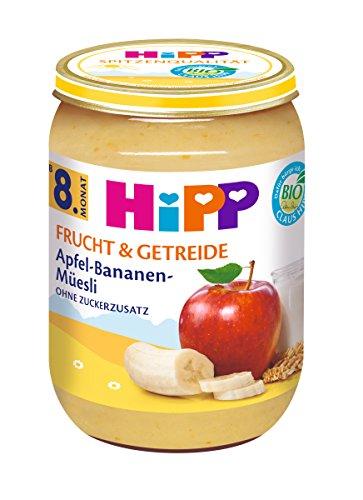 HiPP Apfel-Bananen-Müesli, 6er Pack (6 x 190 g)