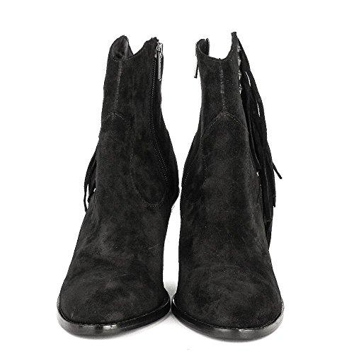 Ash Chaussures Indy Boots a Talon Noir Femme Noir