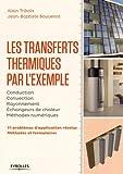 Les transferts thermiques par l'exemple : Méthodes et formulaires, problèmes d'application résolus
