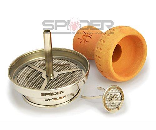 Spider Luxury Smoking - Kaminkopf-Set passend für jede Shisha/Wasserpfeife (Große Smoking Hohe)