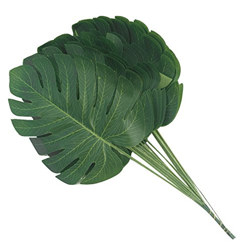 StageOnline-20PCS-Hoja-de-Palma-Tropical-Artificial-Falsa-de-Imitacin-Hawaiana-Luau-Party-Selva-Playa-Tema-Decoraciones-de-Fiesta-Boda