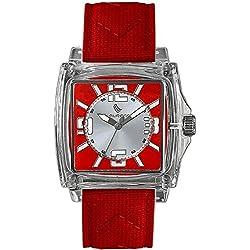 Laurens Unisex-Armbanduhr Analog Quarz Rot 025828CC