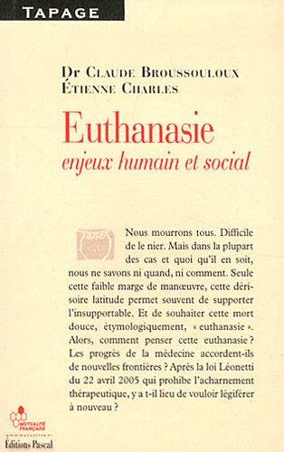 L'EUTHANASIE DANS TOUS SES ETATS