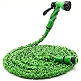 Luvina Home Garden Necessary 50 FT Plastic Expandable Hose With Spray Gun 15M Garden Magic Hose Water Pipe