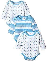 Twins Baby - Jungen Langarm-Body im 3er Pack