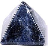 pyramid-finest Big Pierre 2,5cm sculpté pyramidal en cristal de guérison Crafts