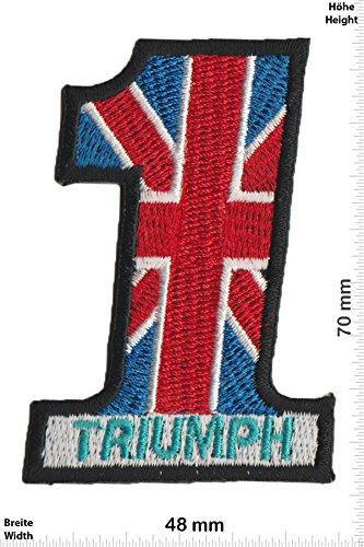 Parches - Triumph - No.1 - UK - Car - Motorbike -...