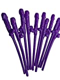 Penis Trinkhalme für Girls Night Out Party Bridal Dusche Party Sex Toys Kunststoff Trinkhalme 100/lot rose 19*2*2 violett