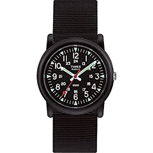 Timex Quarz T18581 PF – Reloj Unisex de Cuarzo, Correa de Textil