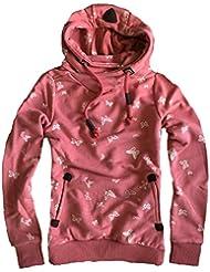 Eight2Nine Damen Hoodie Sweatpullover Schmetterling by SBL