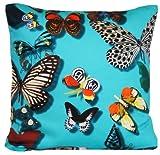 DESIGNERS GUILD Schmetterlinge Digital Print Kissenbezug Stoff Schmetterling Parade Überwurf Kissen Fall