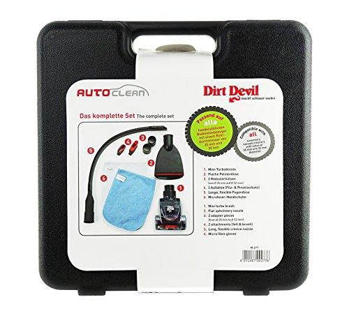 Dirt Devil Autopflege-Set M277 AutoClean 6-tlg., Staubsauger Innenraumpflege (Dirt Devil Mini Staubsauger)