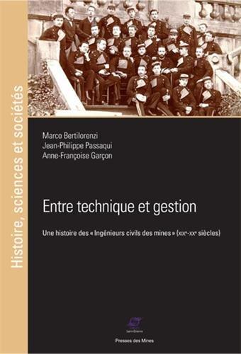 Entre technique et gestion: Une histoire des ingénieurs civils des mines (XIXe-XXe siècles)