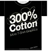 300% Cotton: More T-Shirt Graphics by Helen Walters (30-Oct-2006) Paperback