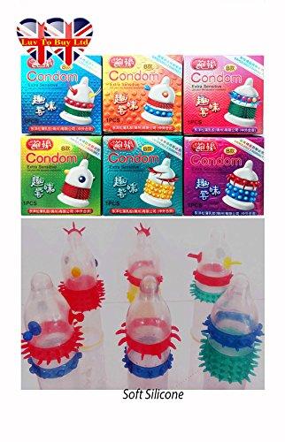 preservativos-extra-sensitive-spike-condon-adulto-sexo-seguro-g-spot-estimular-pack-de-6-envio-mismo