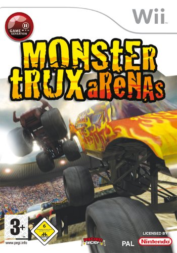 Monster Trux Arenas Monster Truck Wii