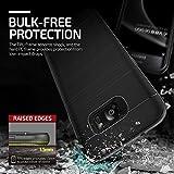 Galaxy S7 Edge Hülle, VRS Design [High Pro Shield Serie] Schlanke Hülle mit Militärischer Schutz für Samsung Galaxy S7 Edge 2016 - Schwarz Silber Bild 5