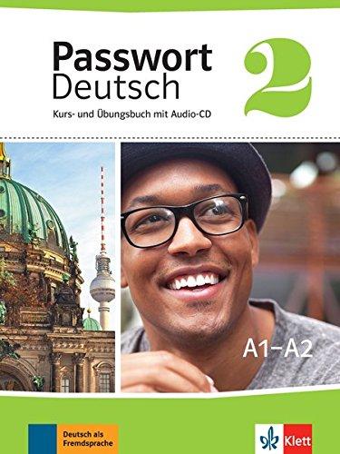 Passwort Deutsch 2 - A1/A2 : Kurs- und Ubungsbuch mit Audio-CD (1CD audio) par Klett Sprachen