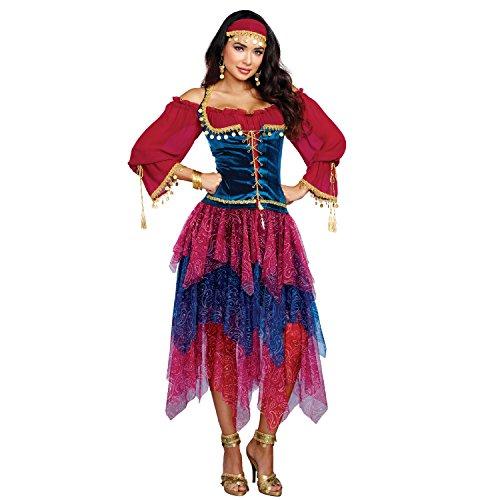 Dreamgirl 10669Kostüm Zigeunerin, ()