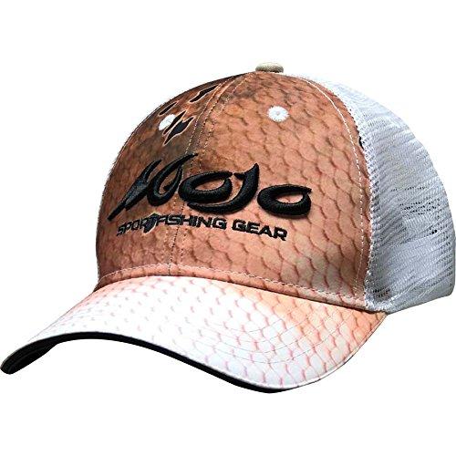Mojo Sportswear Finny Trucker Hat (Einheitsgröße Erwachsene), Herren, Redfish -
