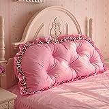LZ-Snail Bett Rückenlehnen Kissen Sofa Bedside Kissen Weiche Taille Tasche Zurück Baumwolle Core Ländlichen Größe Optional Für Bett Oder Sofa (Größe : 150cm)