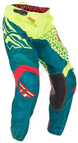 Fly Racing Motocross Kinetic Mesh Hose Trifecta neon-teal 28 Motocross MX Enduro - Kinetic Mesh Motorrad Hose