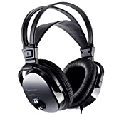 Pioneer Fully Enclosed Dynamic Headphones with Self Adjusting Head Band and Soft Leather